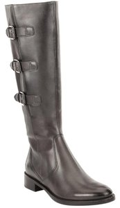 Ecco Riding Soft Hobart Tall Midcalf Black Boots