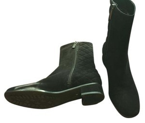 Aquatalia by Marvin K. Suede Suede Waterproof Leather black Boots
