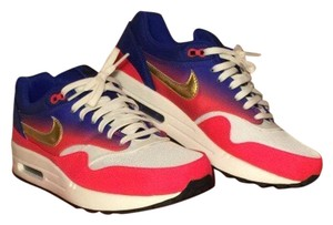 Nike Pink/Blue/White/Gold Athletic