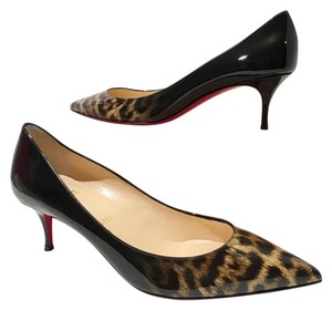 Christian Louboutin Pigalle Follies Louboutin Follies Degrade Leopard Pigalle Black Brown Pumps