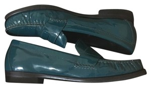Cole Haan Dark Green Flats