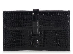 Hermès Crocodile Hr.k1121.06 Small Exotic Clutch