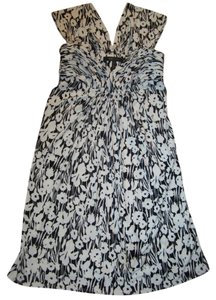 BCBG short dress Black and White on Tradesy