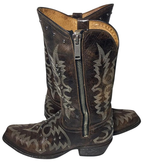 Old Gringo Brown Razz Studded Cowgirl Women S Boots
