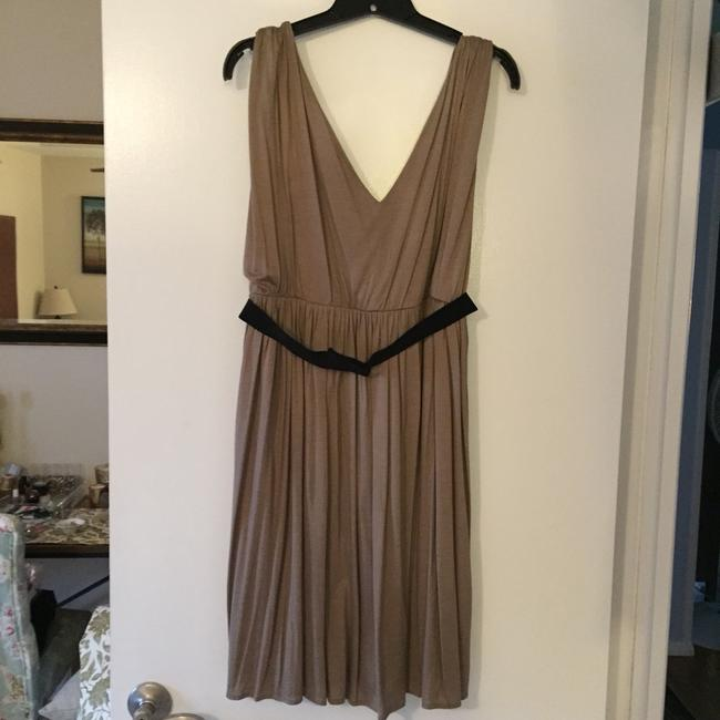 LOFT short dress Light Brown on Tradesy
