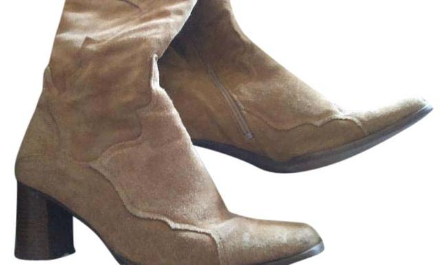 Bullboxer Camel Western Boots/Booties Size US 8 Regular (M, B) Bullboxer Camel Western Boots/Booties Size US 8 Regular (M, B) Image 1