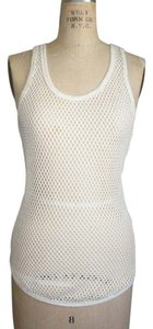 Isabel Marant Mesh Top OFF WHITE