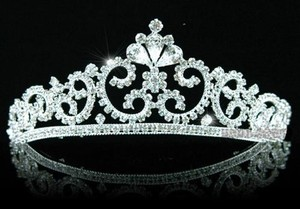 Stunning Vintage Crystal Wedding Bridal Tiara Headband