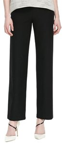 Eileen Fisher Staight Elastic Crepe Pants