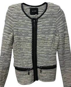 NIC+ZOE Jacket Suit Office Christmas Gray Blazer