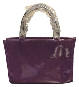 Neiman Marcus Satchel in purple