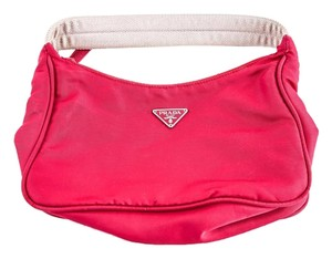 Prada Clutch Wristlet in Red