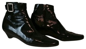 Prada Patent Leather Vintage black Boots