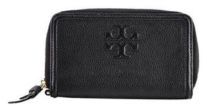 Tory Burch * Tory Burch Thea Zip Around Leather Smartphone Wallet