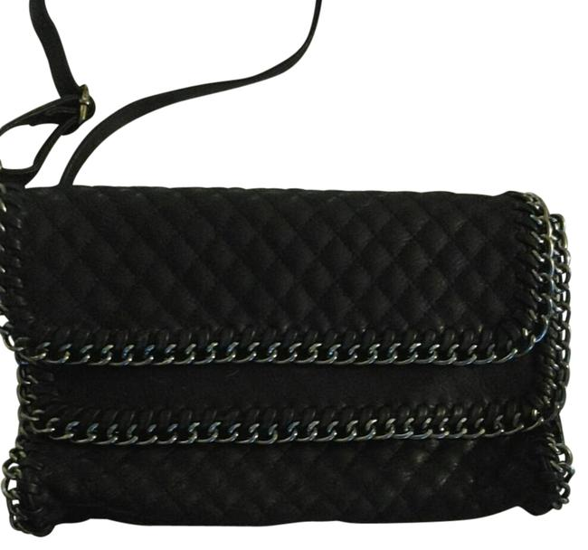 Quilted Leather Clutch Quilted Leather Clutch Image 1