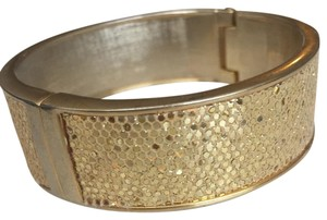 Betsey Johnson Gold Cuff Bracelet
