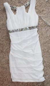 Macy's White Fashion Dress