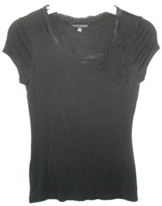 Banana Republic Modal T Shirt Black