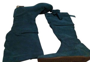 Fornarina Suede Green Boots