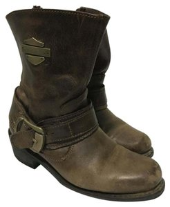 Harley Davidson Size 6 Brown Boots