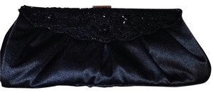 Ann Taylor Black Clutch