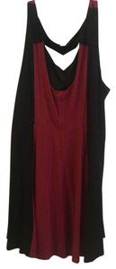 Black and red Maxi Dress by Torrid