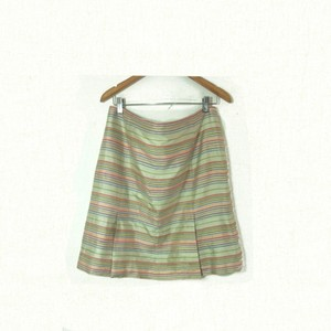 Akris Punto Skirt pink, green, cream