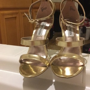 Steve Madden gold Formal