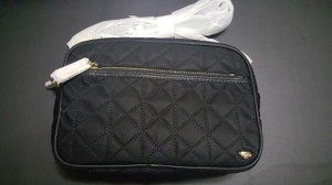 Juicy Couture Nylon Chain Camera Quilted Cross Body Bag