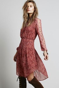 Free People short dress Rose Glow on Tradesy