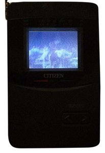 Citizen CITIZEN LCD MINI TV TELEVISION UHF VHF MODEL DS-777-IA.
