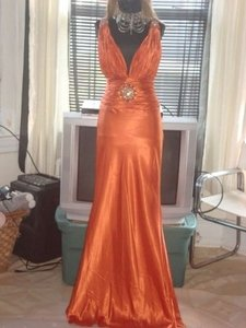 Blush DARK ORANGE Blush Dress