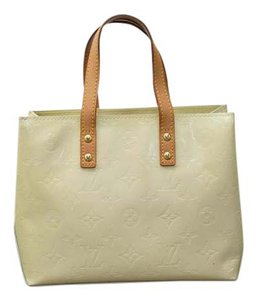 Louis Vuitton Beige Brown Handbag 6jlvhb011 Tote in PEARL