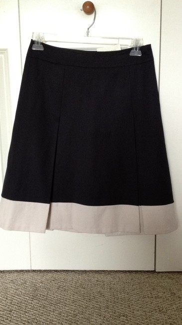 Ann Taylor Skirt navy and khaki