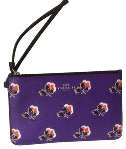 Coach Nwt New With Tags Wristlet in Purple