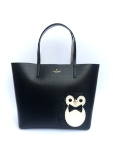 Kate Spade Animal Limited Edition Winter Tote in Black