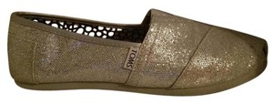 TOMS Silver Shine Flats