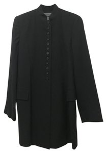 Morgane Le Fay Naroa Collar Button Front Coat