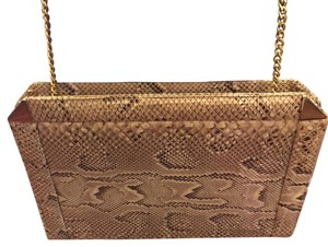 Susan Gail Snakeskin Vintage Shoulder Bag