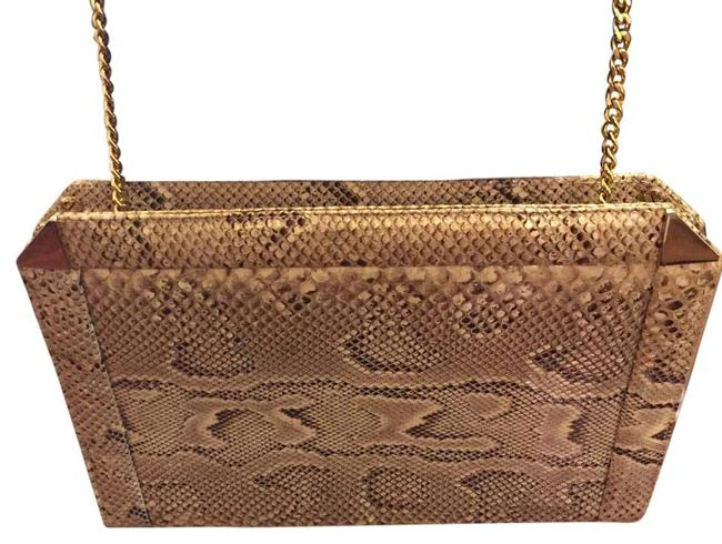Susan Gail Multi-color Snakeskin Shoulder Bag Susan Gail Multi-color Snakeskin Shoulder Bag Image 1
