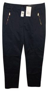 Ralph Lauren Golf Solid Navy Zipper Pants