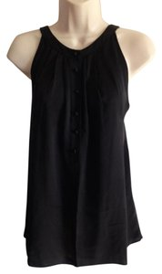 Theory Silk Sleeveless Top Black