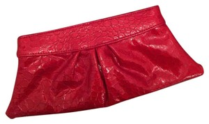 Lauren Merkin red Clutch