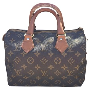 Louis Vuitton French Company Satchel in Brown