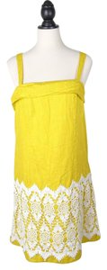 Floreat Embroidered Anthropologie Dress