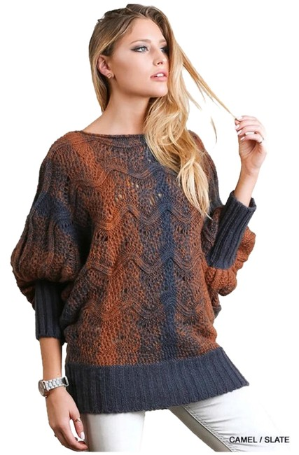 Preload https://item3.tradesy.com/images/umgee-chunky-knit-sweaterpullover-size-8-m-20336092-0-1.jpg?width=400&height=650