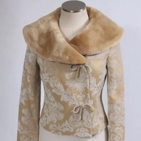 Odille Anthropologie Jacquard Pea Coat - 28% Off Retail hot sale 2017