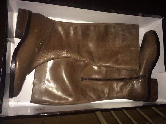 Saks Fifth Avenue Brown Boots