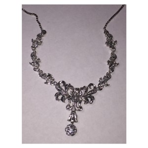 Other Vintage Edwardian style 0.42cwt dia Bridal collar necklace 18k(750)