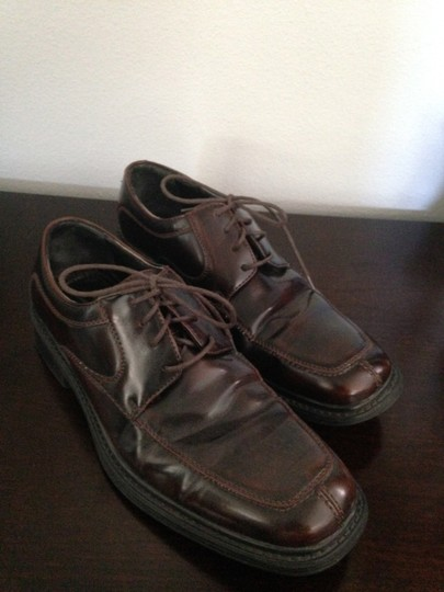 Men's Bostonian Dress Shoes Ox Blood Flats
